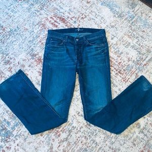7 For All Man Kind Bootcut Nate Jeans